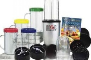 Mix Your Drinks With The Magic Bullet.